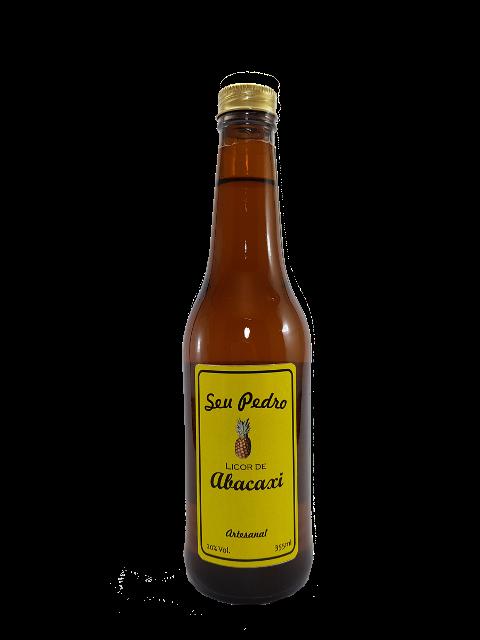 Licor de Abacaxi Artesanal 355 ml