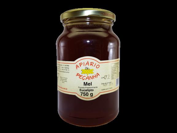 Mel Florada de Eucalipto Puro 750 g - Apiário Peçanha