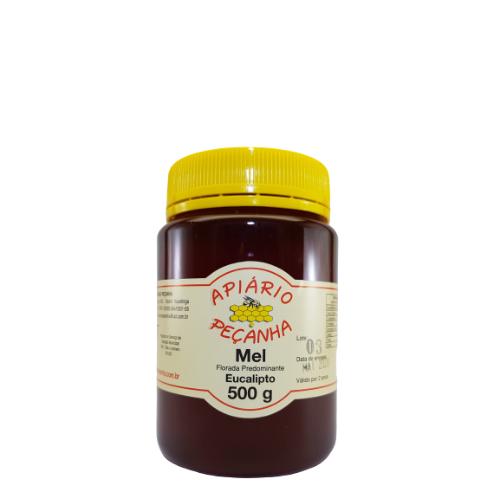 Mel Florada de Eucalipto Puro 500 g - Apiário Peçanha