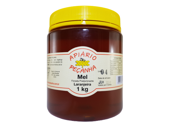 Mel Florada de Laranjeira 1 Kg - 100% Puro