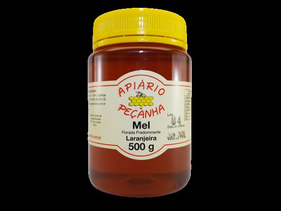 Mel Florada de Laranjeira 500 g - 100% Puro
