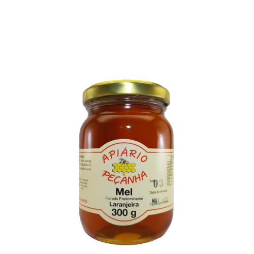 Mel Florada de Laranjeira Puro 300 g - Apiário Peçanha