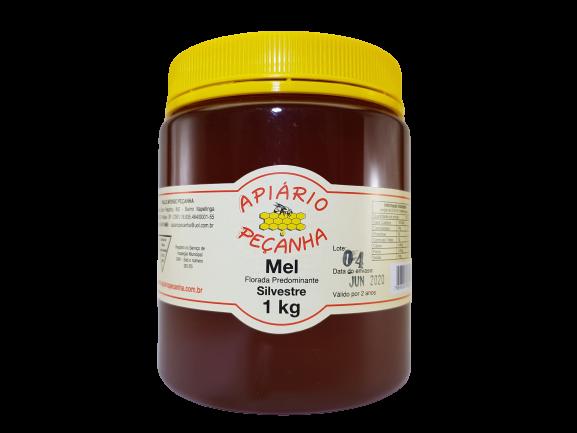Mel Florada Silvestre Puro 1 Kg - Apiário Peçanha