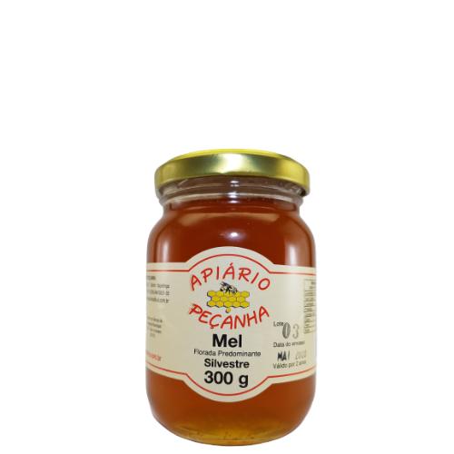 Mel Florada Silvestre Puro 300 g - Apiário Peçanha