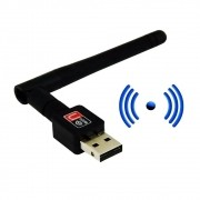 Antena Adaptador Wi-fi Usb 2.0 Wireless 600Mbps