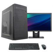 """Computador Completo Core i3 4gb ssd 120gb Monitor 17"""" teclado e mouse"""