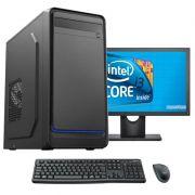 Computador Completo Core i3 8gb HD 500gb Monitor 17