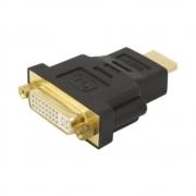 Conector DVI Macho para HDMI Femea