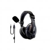 Fone De Ouvido Com Microfone Para Pc Celular P2 3.5mm Fo-168