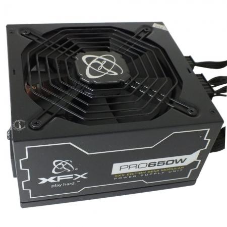 Fonte Alimentação XFX Pro 650W Semi Modular 80Plus Bronze