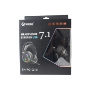 Headset Gamer Fone Usb C/ Mic 7.1 Rgb Sh-fo-q10 Shinka