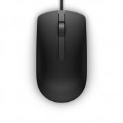 Mouse óptico Dell - MS116 (PRETO) semi novo
