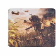 Mouse pad Gamer Soldado Combate Kp-s03 Médio 210x260mm Knup