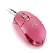 Mouse usb Rosa 1000dpi