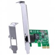 Placa de Rede 10/100/1000 PCI-E  Suporte Low Profile