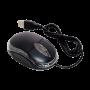 Mouse Óptico com Fio Usb - Preto - Básico