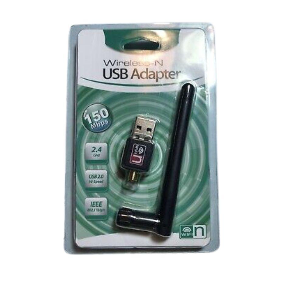 Adaptador USB Wireless 150 Mbps C/ Antena