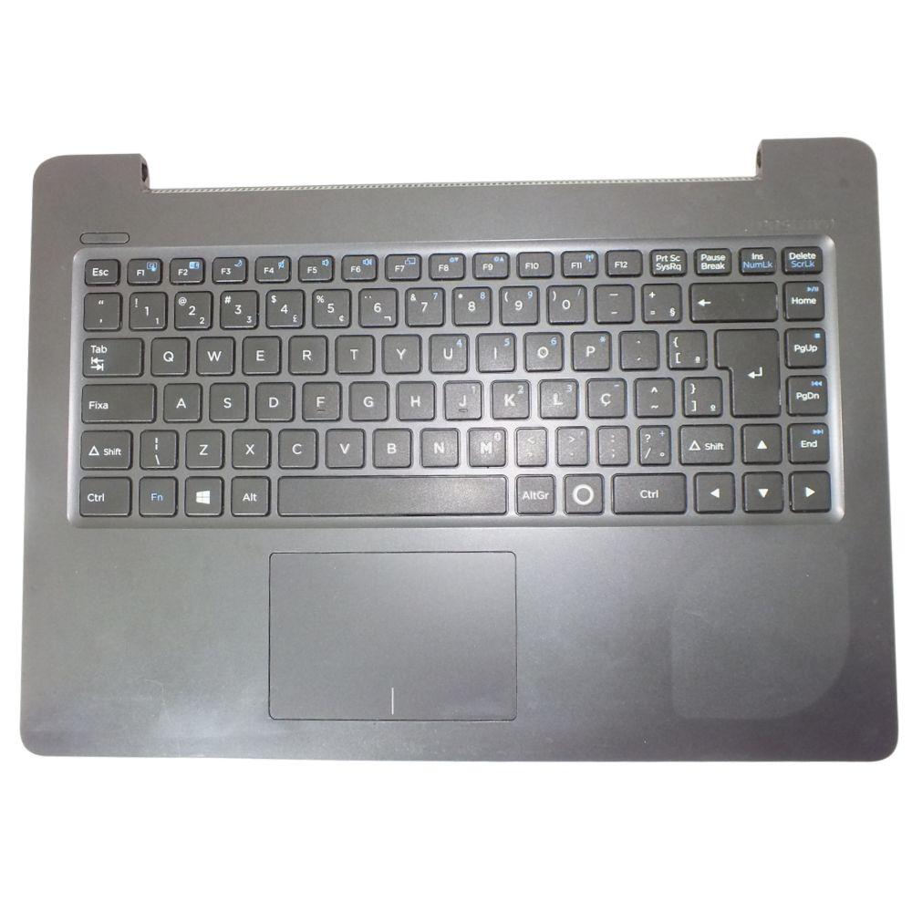 Carcaça Base Com Teclado Notebook Positivo Stilo XC3650