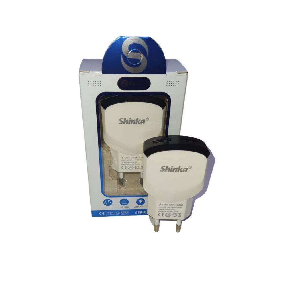Carregador  Celular com 2 USB  2A SHINKA