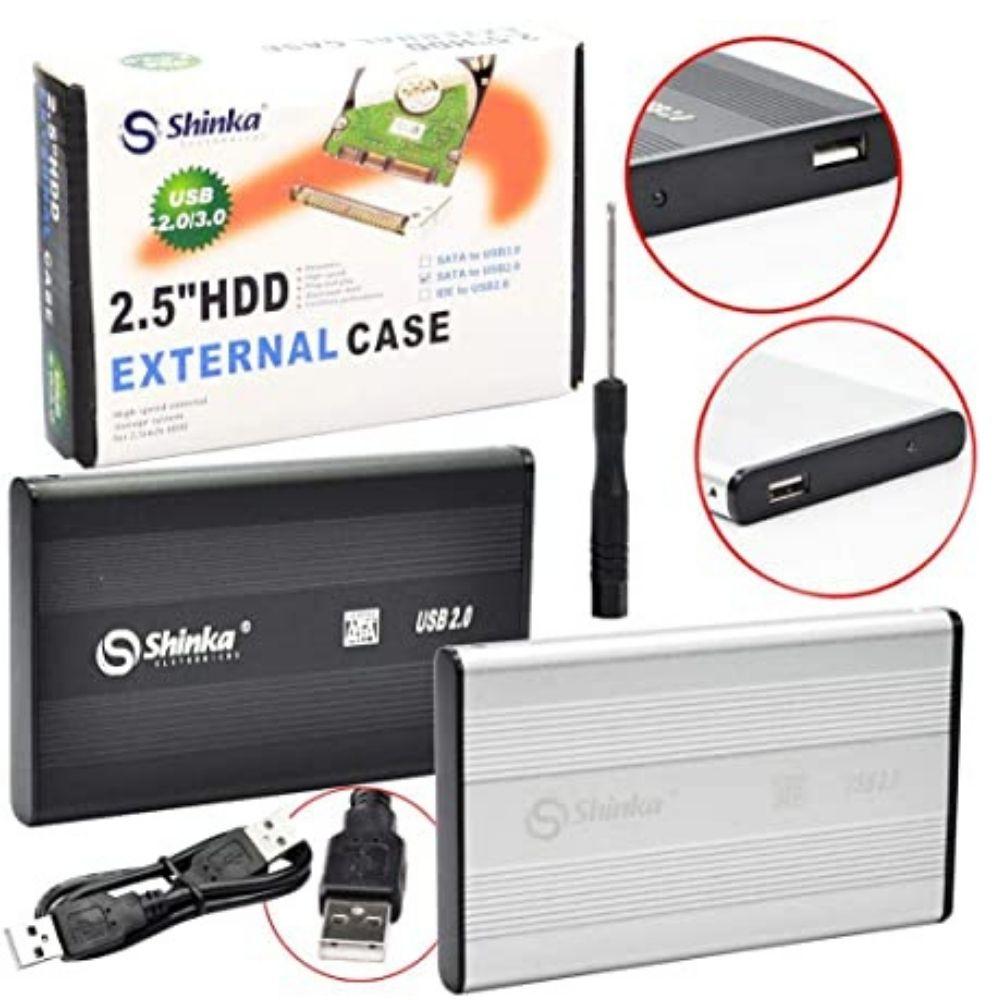 Case Hd 2,5 C/ Conexão Usb 2.0  SH-CS Shinka