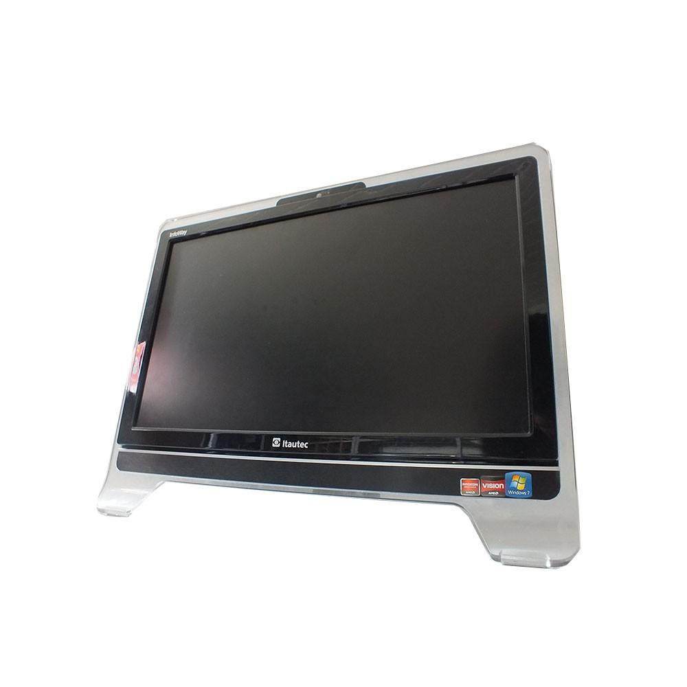 Computador All In One Itautec - AMD E2 1800 - 4gb - SSD 120gb