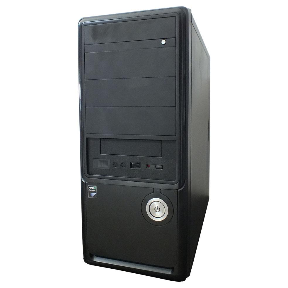 Computador AMD Phenom II X4 - 4gb ddr3 - HD 320gb - Preto
