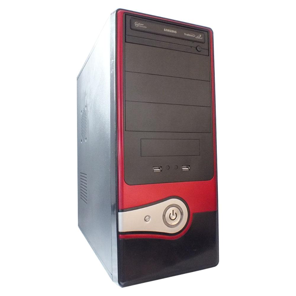 Computador AMD Phenom II X4 - 4gb ddr3 - HD 500gb - Red