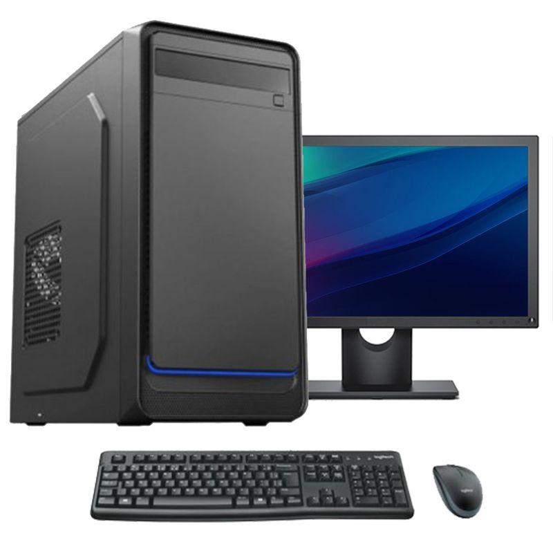 """Computador Completo Core i3 4gb hd 160gb Monitor 17"""" teclado e mouse"""