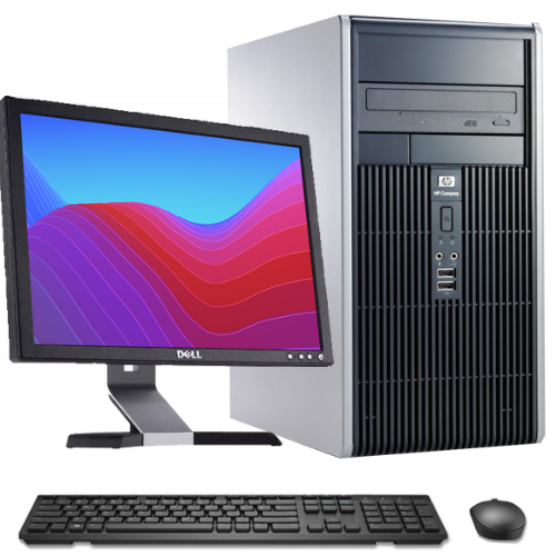 Computador Completo - HP DC5850 Athlon Dual Core + Monitor LCD