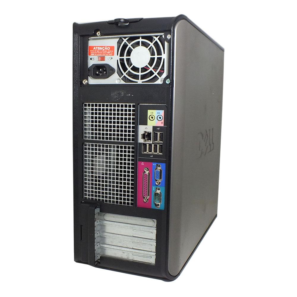 Computador Dell 755 MT - Core 2 Duo - 4gb ram - HD de 160gb