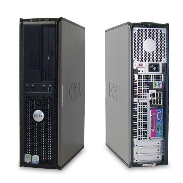 Computador Dell Intel Core 2 Quad - 4gb ram - HD de 160gb