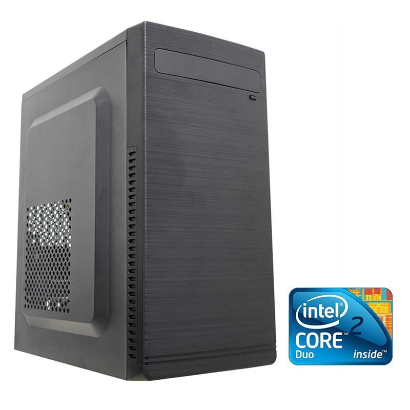 Computador Desktop Intel Core 2 Duo 4GB RAM HD 80GB