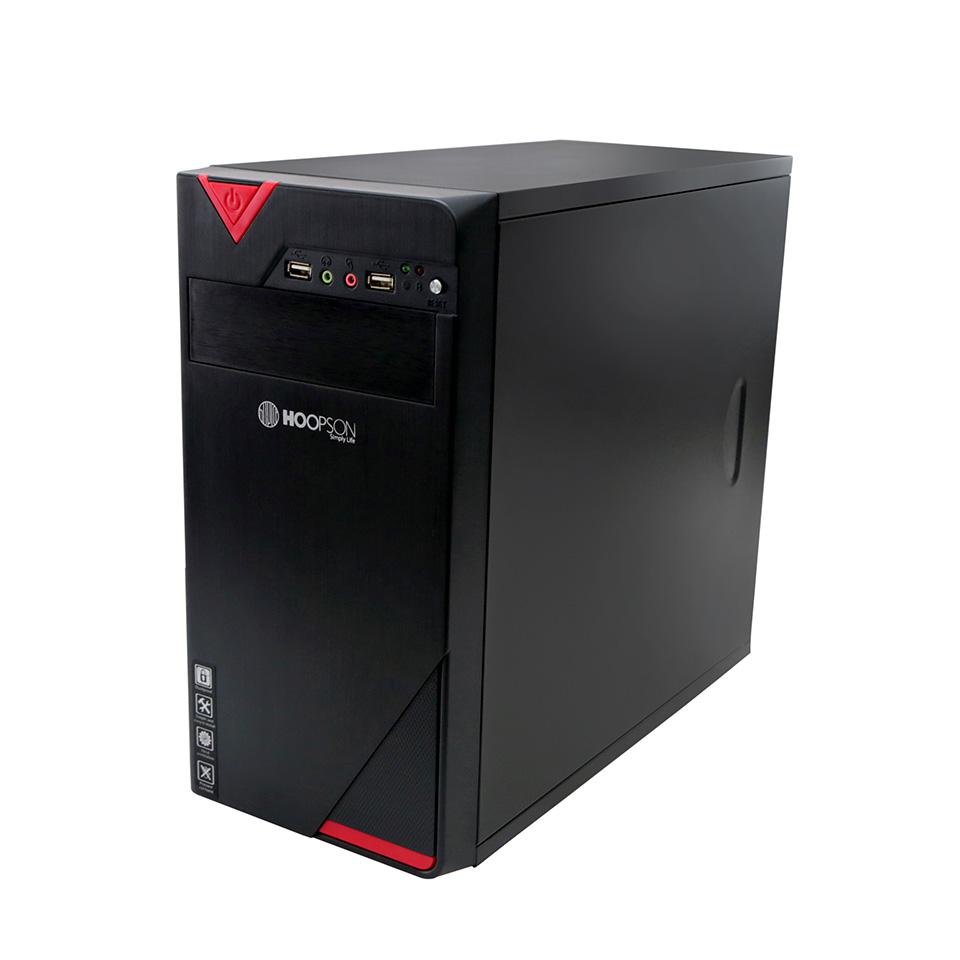 Computador Gabinete 1 Baia Dual Core 4 Gb SSD 120 Fonte 200w