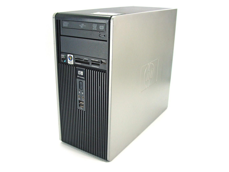 Computador HP Compaq  Athlon X2 4GB 160GB