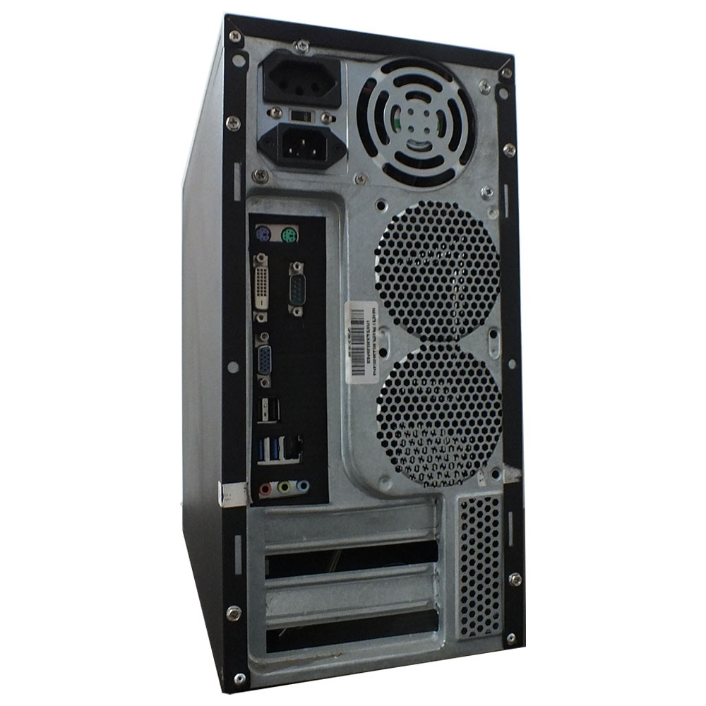 Computador Intel Core i3 4160 - 4gb ram - HD 500gb Gabinete usado