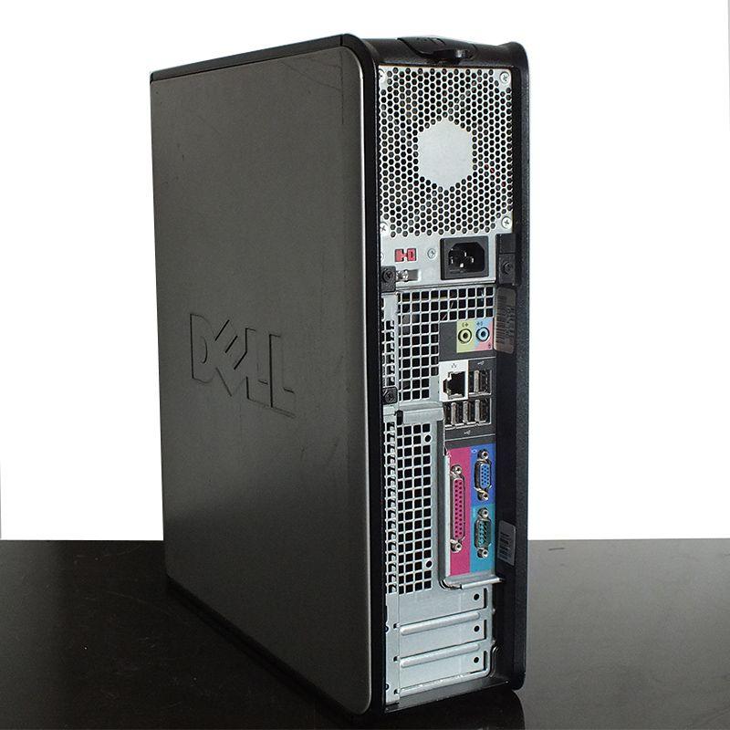 Computador Desktop Dell Optiplex Core 2 Duo 4GB RAM HD 500GB