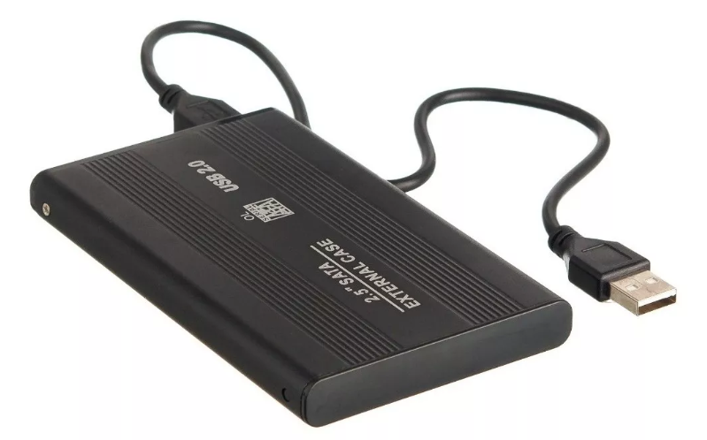 "HD Externo Portátil Slim - 500GB - 2.5"" - USB 2.0"