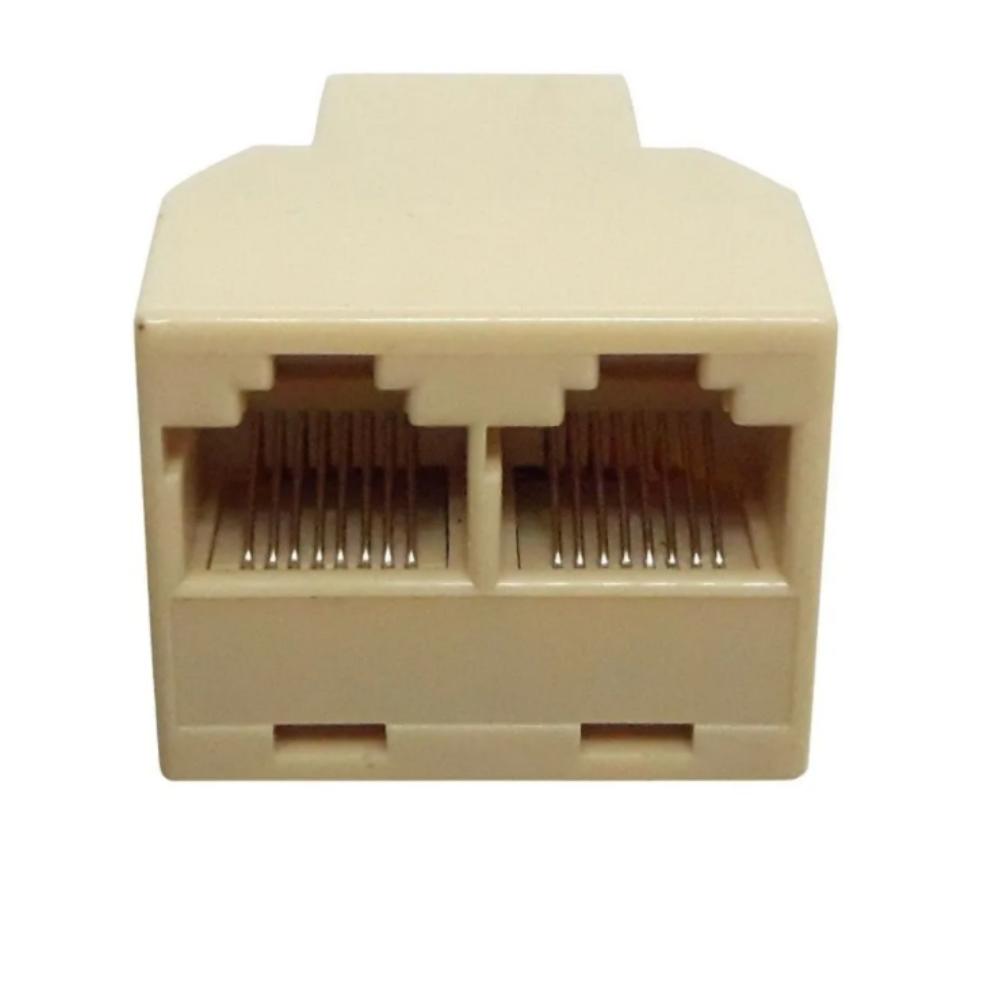 Duplicador Rj45 1 X 2 Saídas Só Funciona 1 De Cada Vez
