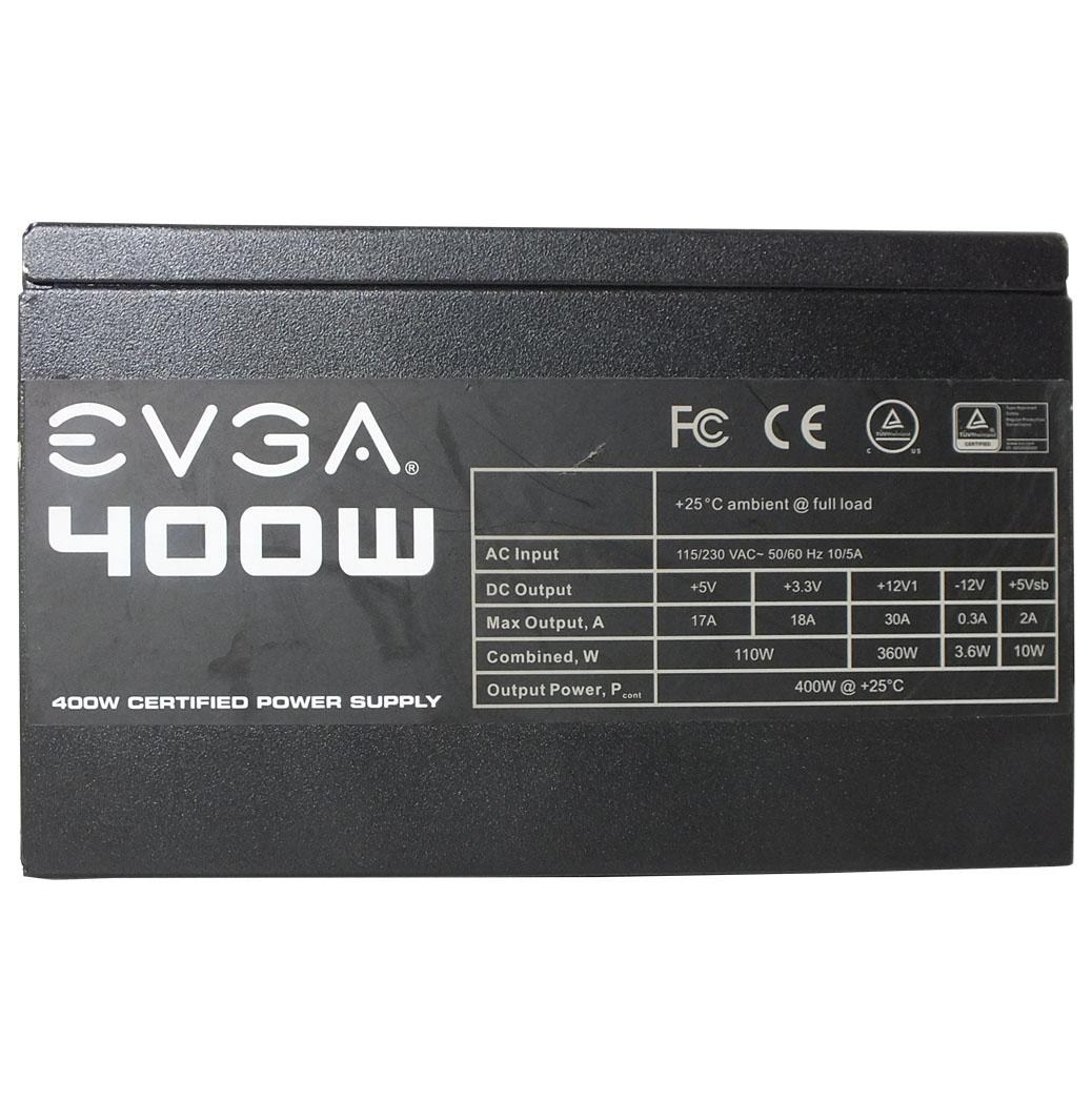 Fonte ATX Evga Atx 400w Reais Usada