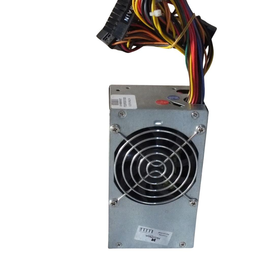 Fonte de alimentação para PC K-Mex PD Series PD-230 ROG 200W prata 110V/220V
