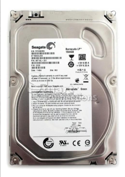 HD 1,5TB - sata - desktop - diversas marcas