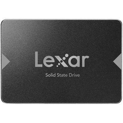 "SSD Lexar NS100 128GB SATA III 2,5"" Leitura 520MB/s"