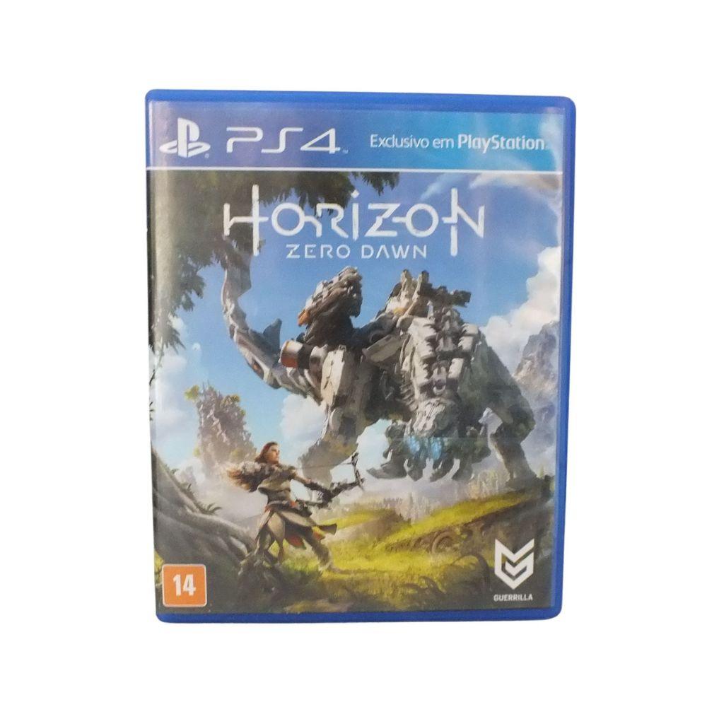 Horizon Zero Dawn 100% Português Física Ps4 usado