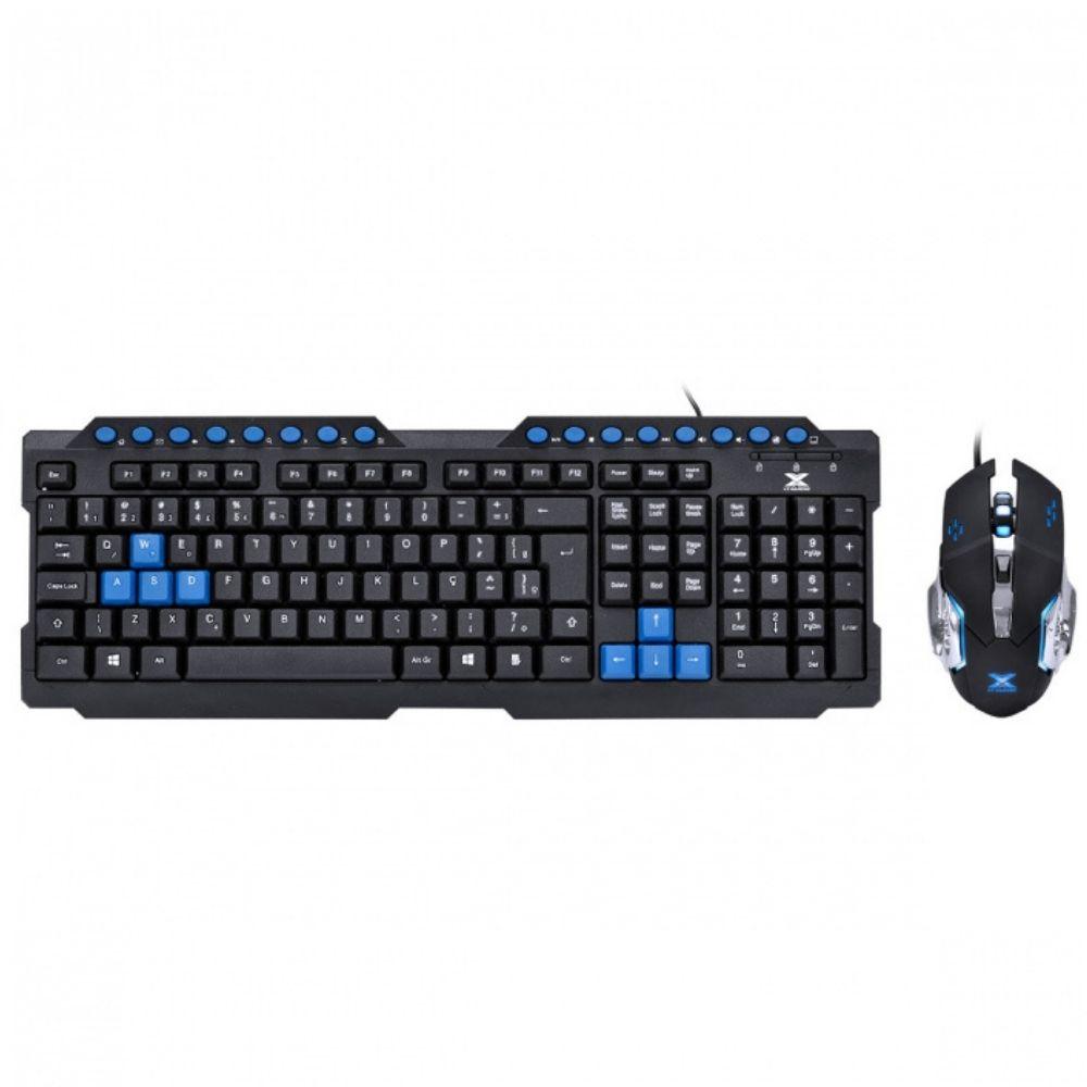 Kit Teclado e Mouse Vx Gaming Grifo Vgc-01a