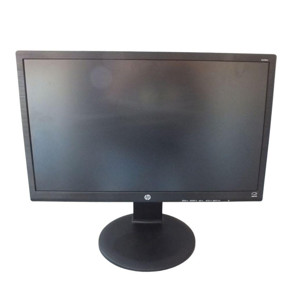 Monitor Hp 21,5'' V225hz Led Full Hd C/ Base Ajustável Usado