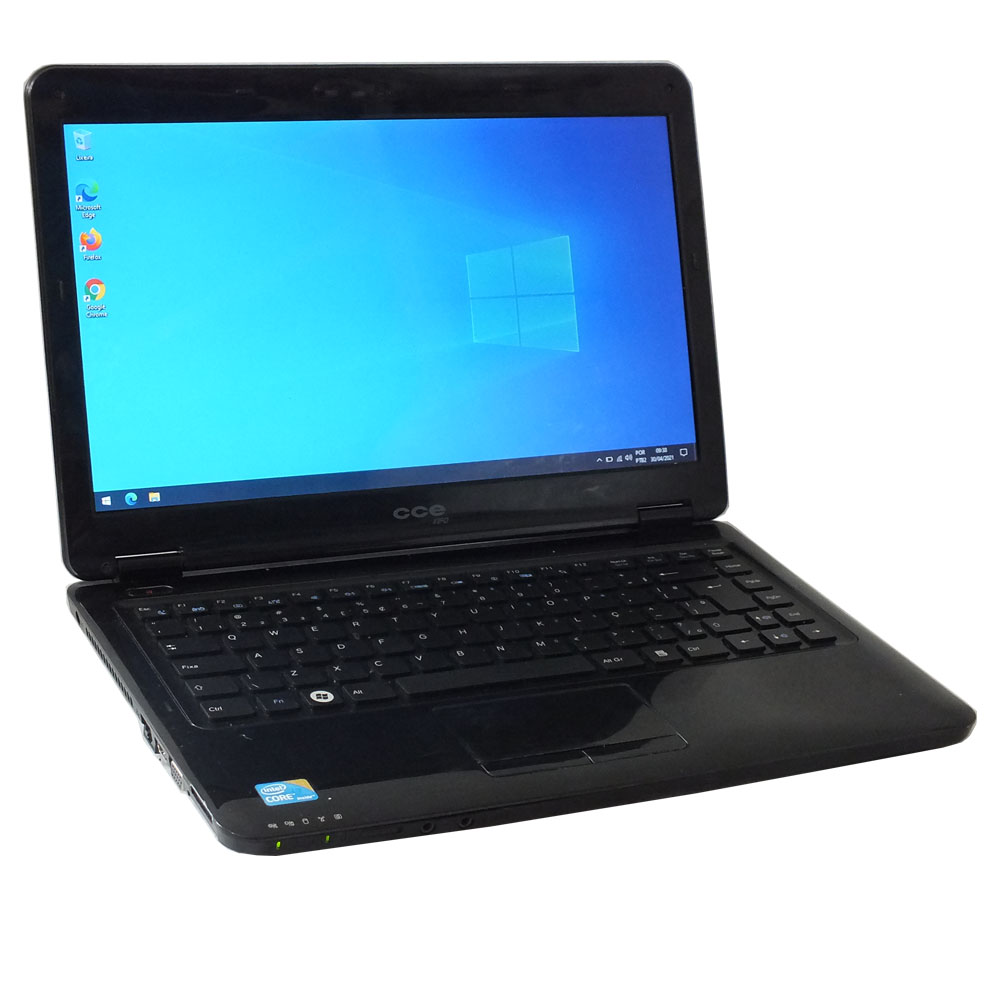 Notebook CCE - Intel Core i3 M330 - 4gb ram ddr3 - HD 500gb