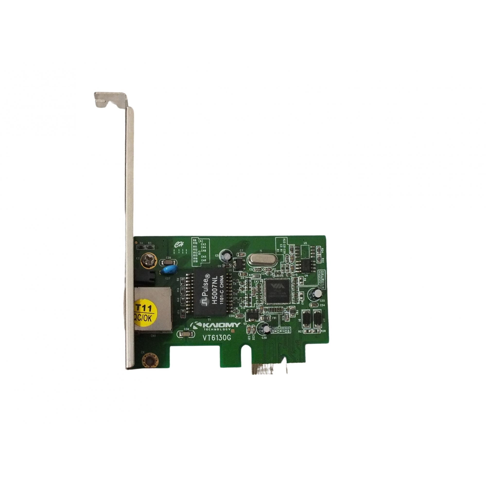 Placa De Rede Gigabit 10/100/1000 Mb/s Pci Express Rj45