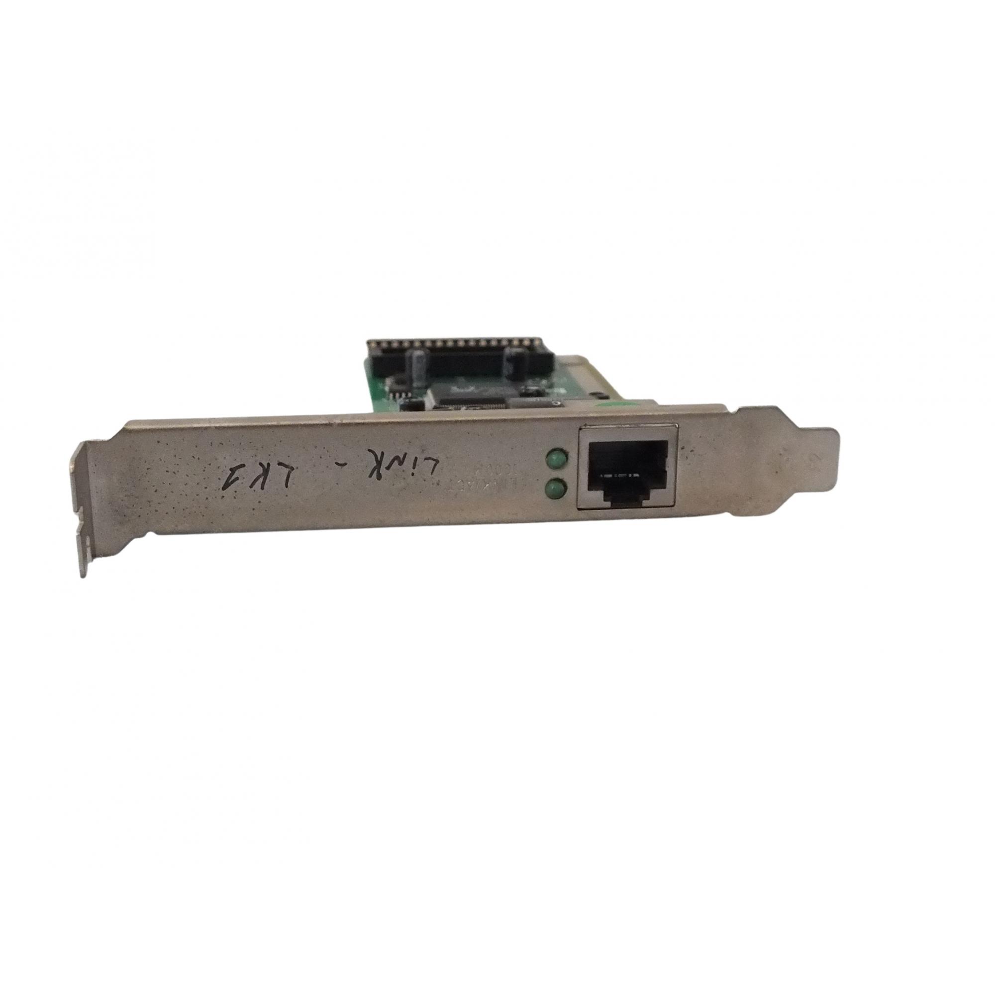 Placa De Rede Pci 10/100/1000 Mbps
