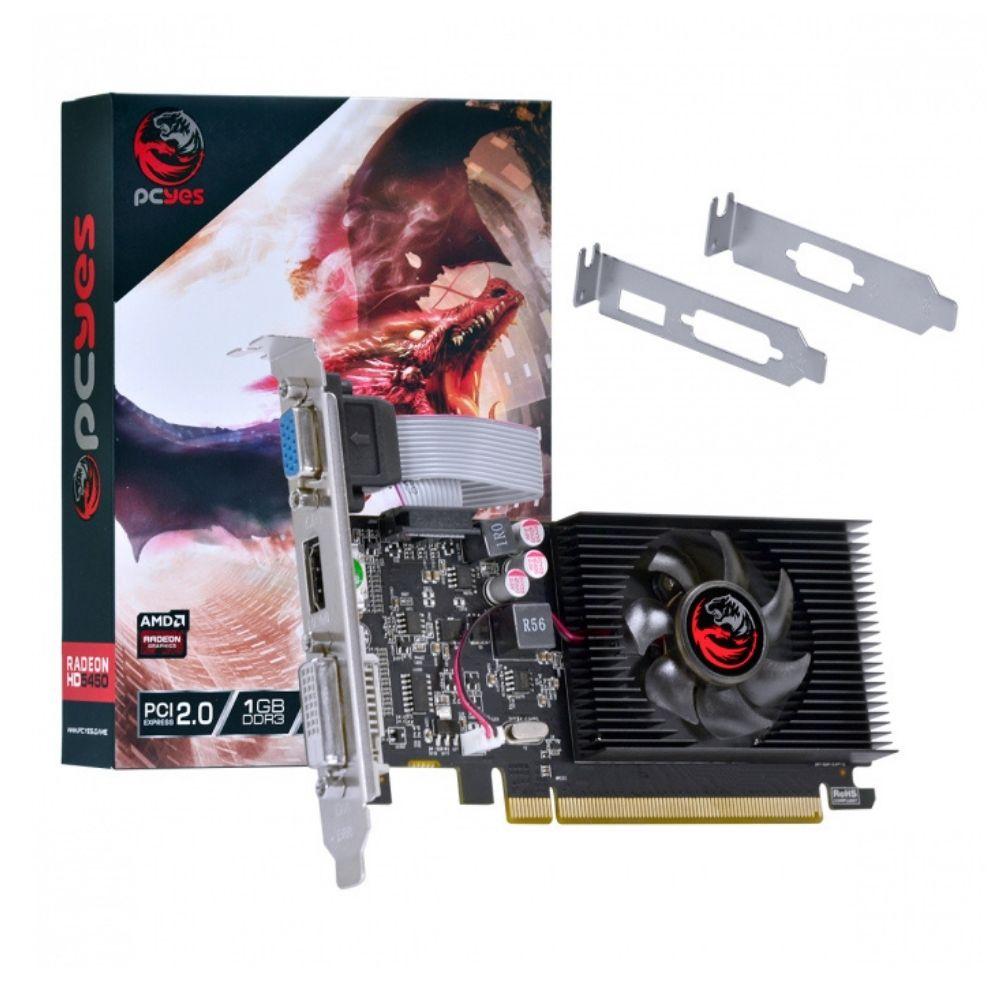 Placa de Video AMD Radeon HD 5450 1GB DDR3 Low Profile