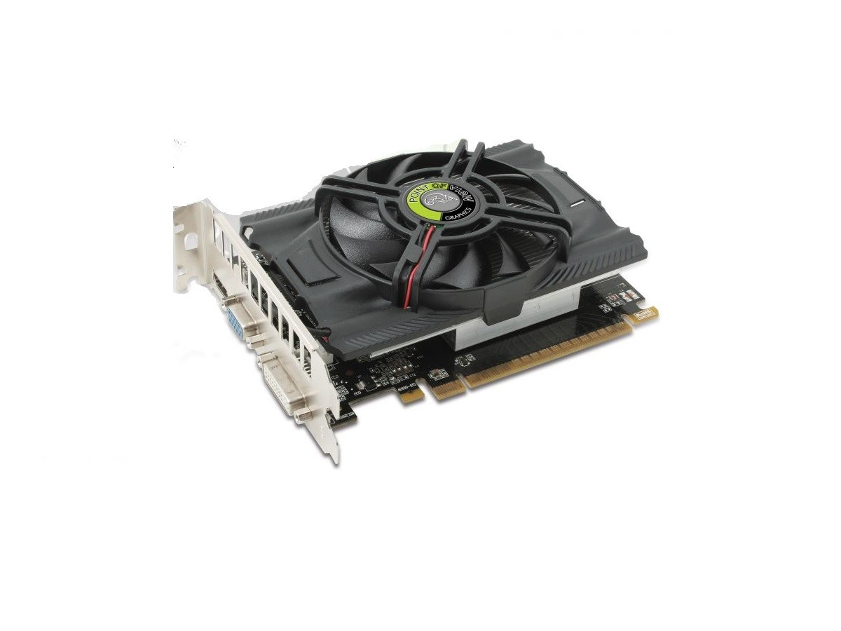Placa de video point of view GTX 650 1GB